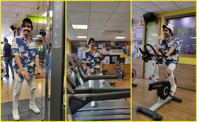 harrdy sandhu gym